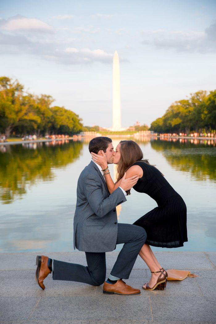 engagement-The Lincoln Memorial
