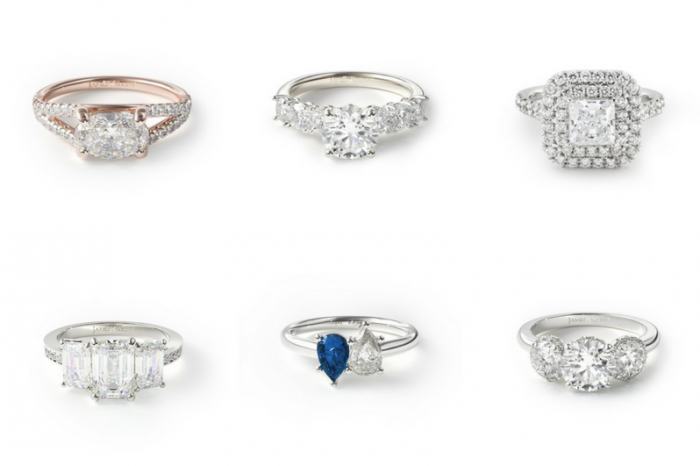 engagement ring styles 5 types of engagement rings