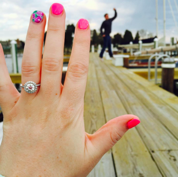 Kate's Proposal in Inn at Perry cabin, St. Michaels MD