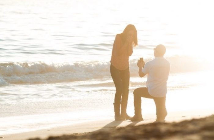 Emahlie and Isaiah's Engagement in Rincon beach