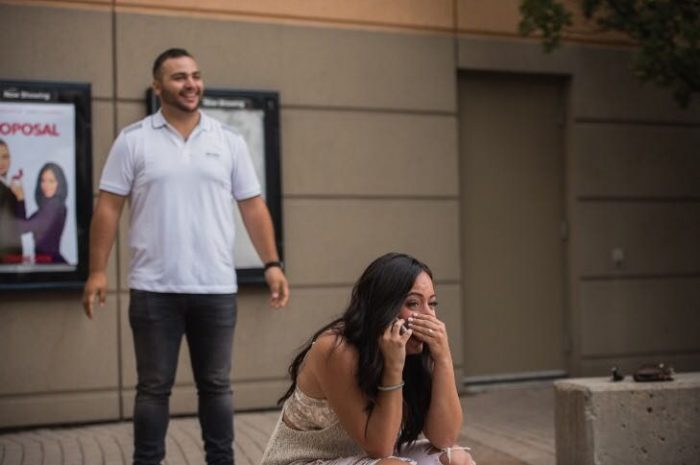 Where to Propose in AMC Theatres (Vaughan, Ontario)