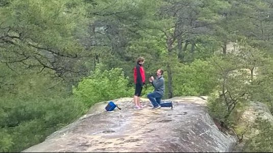 Where to Propose in Red River Gorge KY