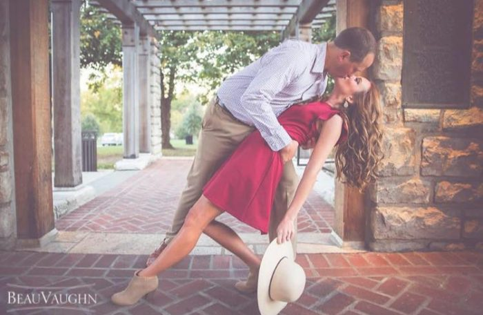 Abby and Michael's Engagement in Kansas City, Missouri