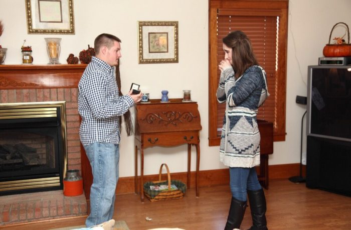 Madelynn's Proposal in His Aunt's house