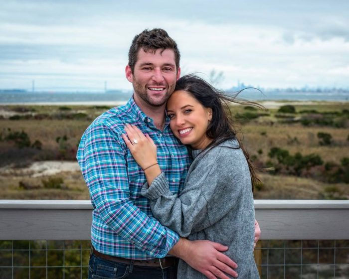 Wedding Proposal Ideas in Observation deck overlooking the Atlantic Ocean on Sandy Hook in Middletown, NJ **Wedding date is not set yet, May 19th is just a tentative date**