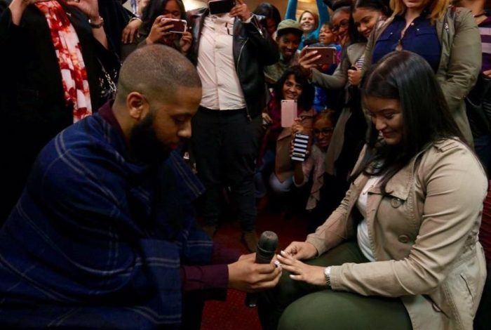Marriage Proposal Ideas in Heavenly Vision Christian Center