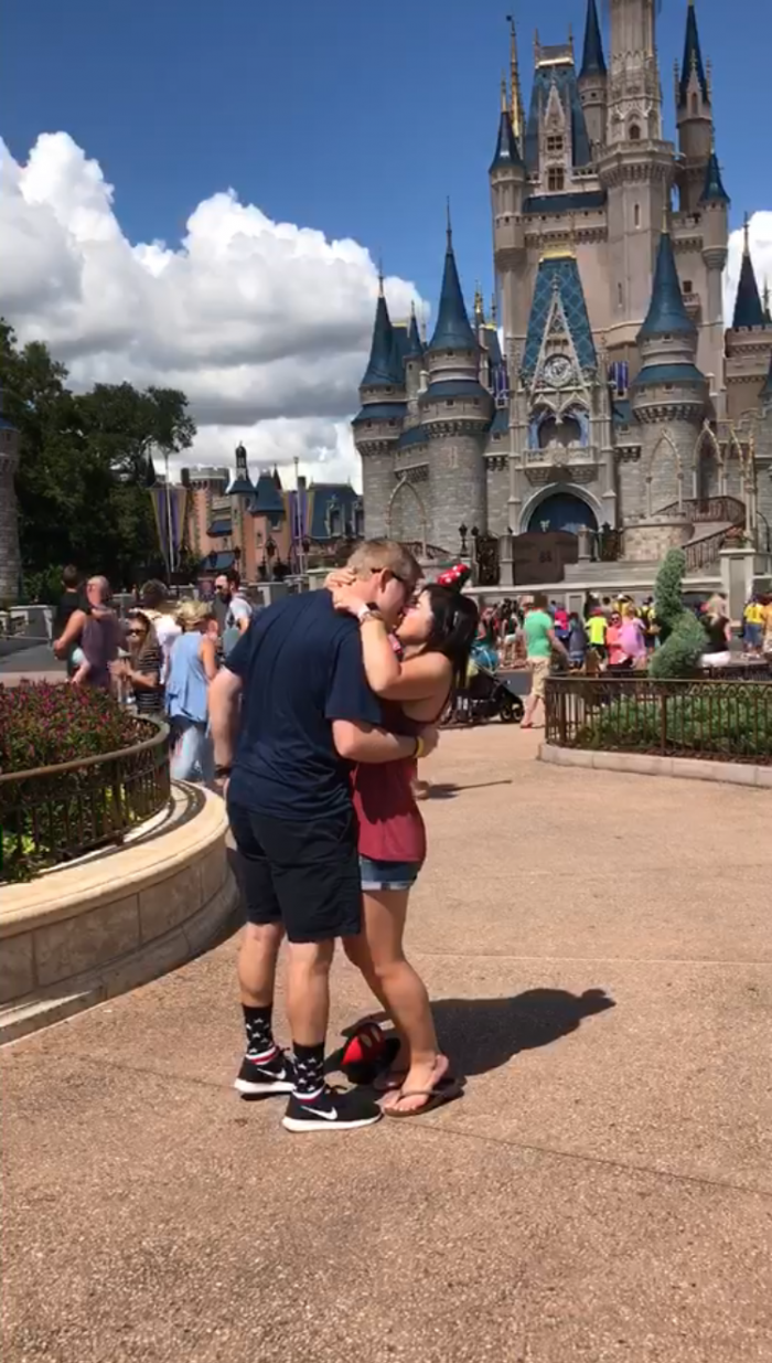 Wedding Proposal Ideas in Disney world