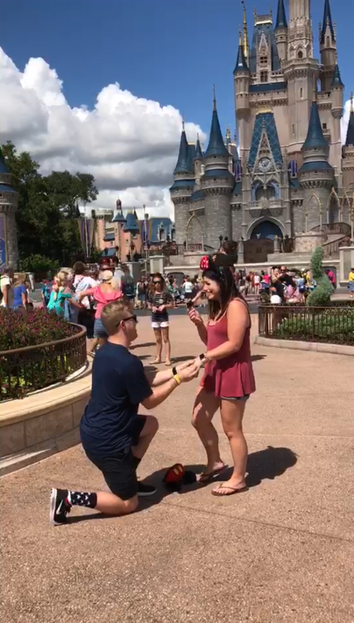 Engagement Proposal Ideas in Disney world