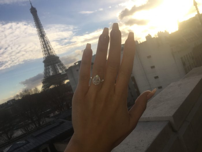 Wedding Proposal Ideas in Paris France at the Shangri-La