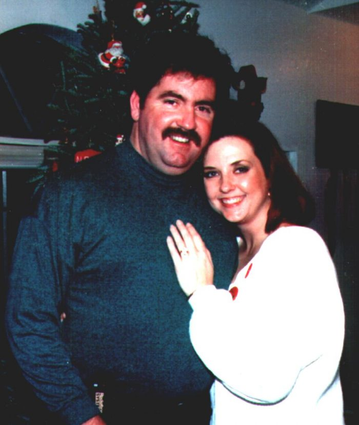December 17, 1993. ENGAGED the night before!