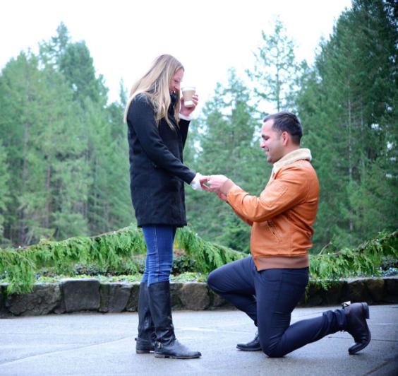 Wedding Proposal Ideas in Butchart Gardens