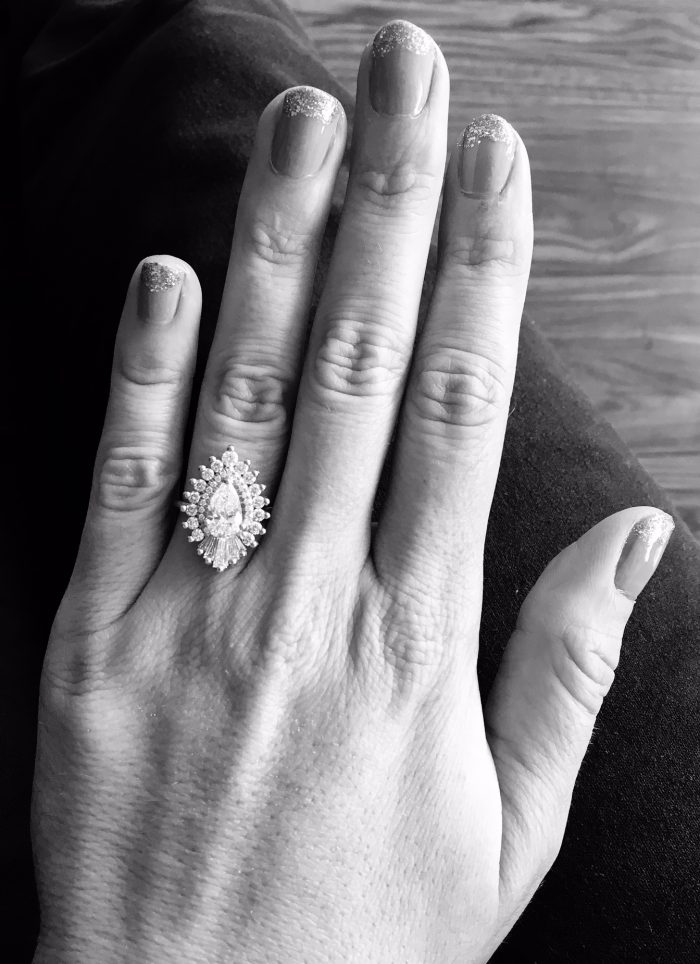 Wedding Proposal Ideas in Our apartment in Little Rock, AR