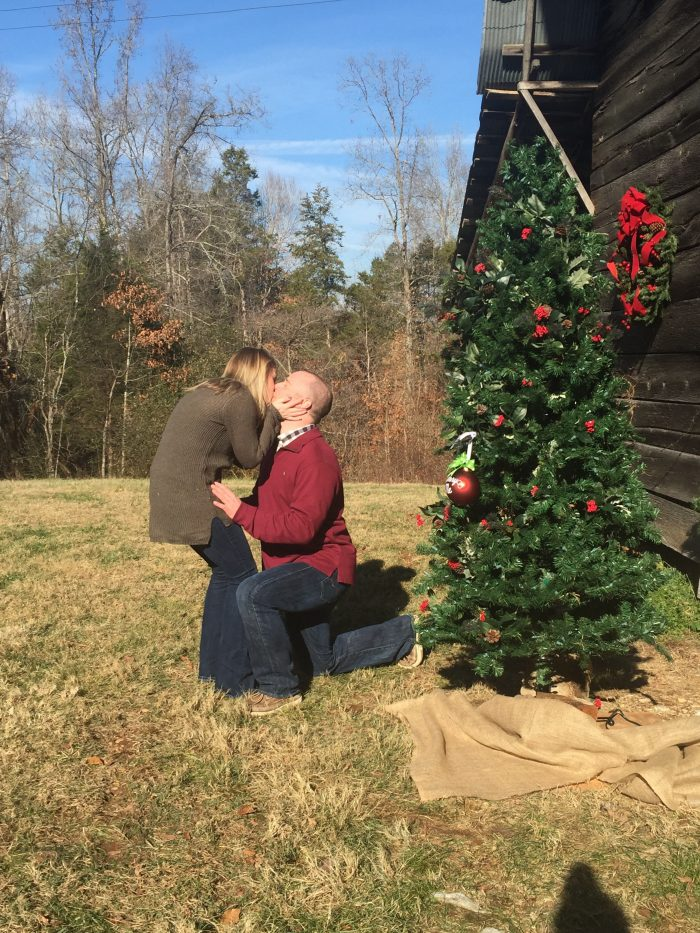 Katie's Proposal in Bible Hill, TN