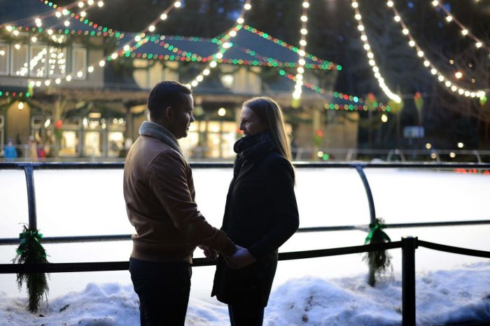 Where to Propose in Butchart Gardens