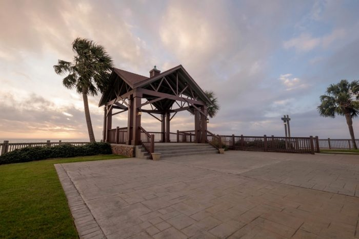 Savanna and Sean's Engagement in The Grand Marriott in Fairhope, AL
