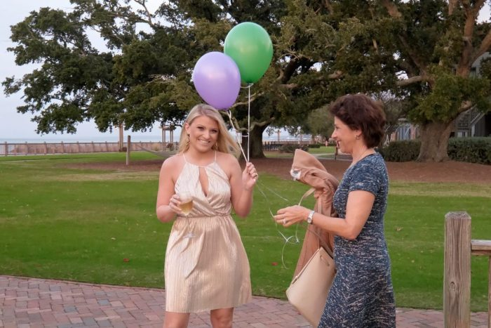 Engagement Proposal Ideas in The Grand Marriott in Fairhope, AL