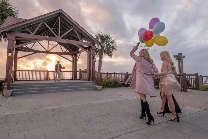 Wedding Proposal Ideas in The Grand Marriott in Fairhope, AL