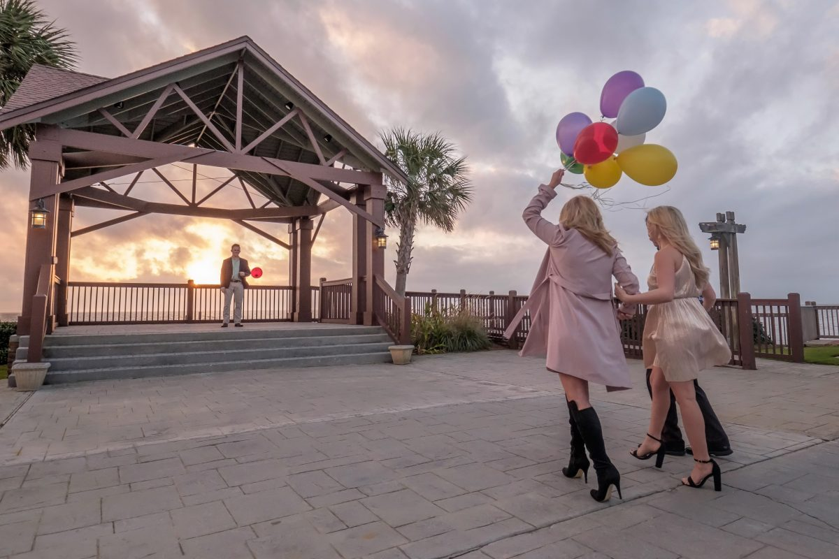 Wedding Proposal Ideas in The Grand Marriott in Fairhope, AL