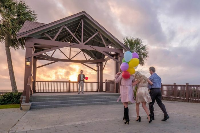 Where to Propose in The Grand Marriott in Fairhope, AL