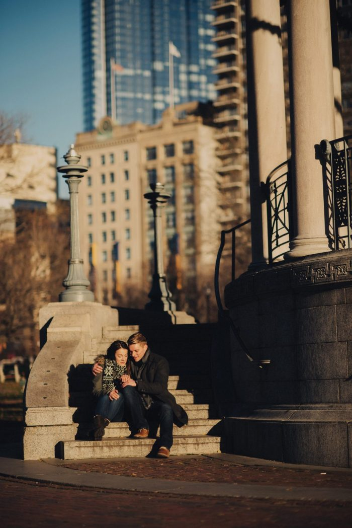 Marriage Proposal Ideas in Frog Pond in Boston