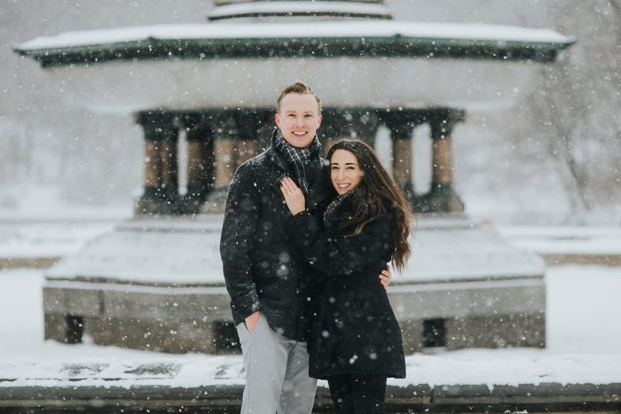 Samantha and Joe's Engagement in Bethesda Terrace and Fountain, Central Park