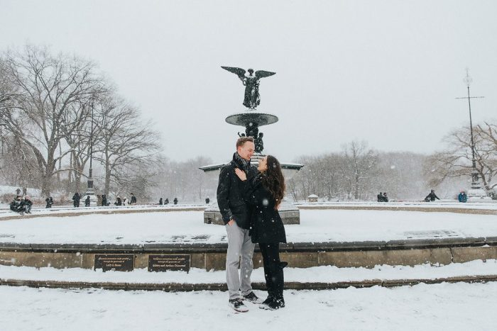 Marriage Proposal Ideas in Bethesda Terrace and Fountain, Central Park