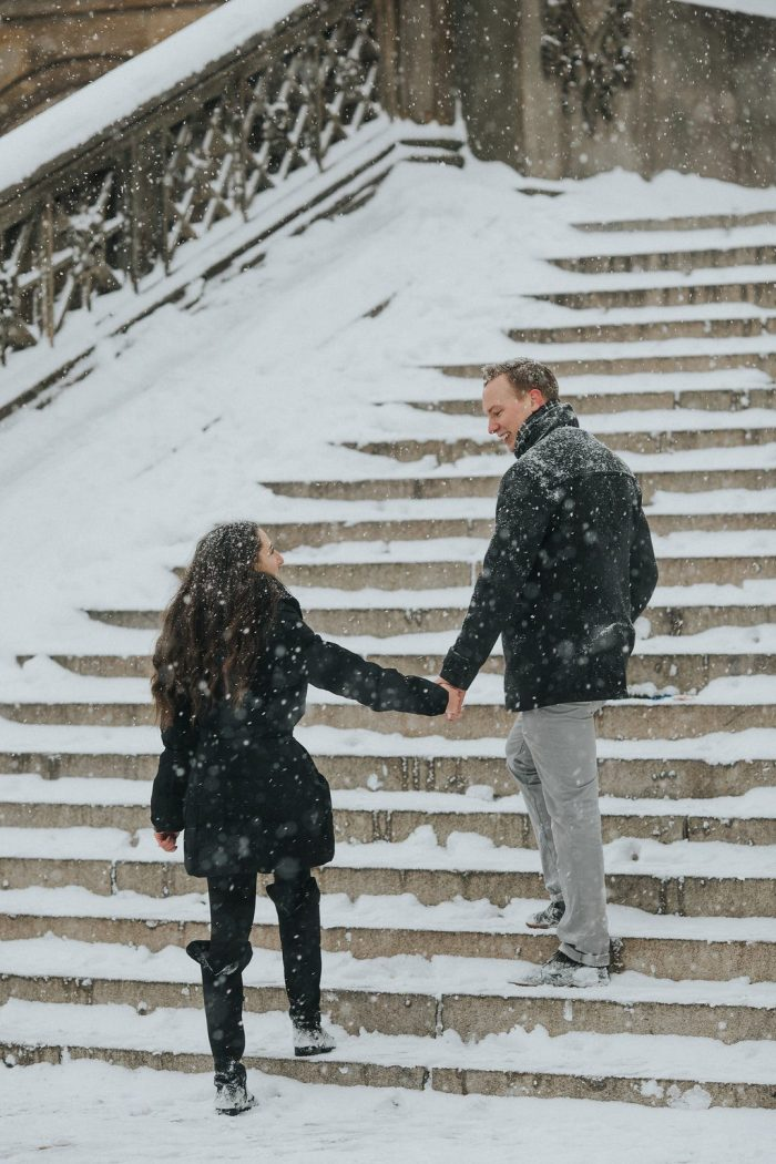Wedding Proposal Ideas in Bethesda Terrace and Fountain, Central Park