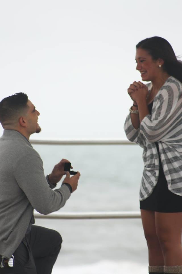 Engagement Proposal Ideas in Pier Village - Long Branch, NJ