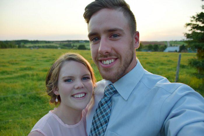 Kelsie and Dean's Engagement in Brookfield Presbyterian Church, Prince Edward Island, Canada