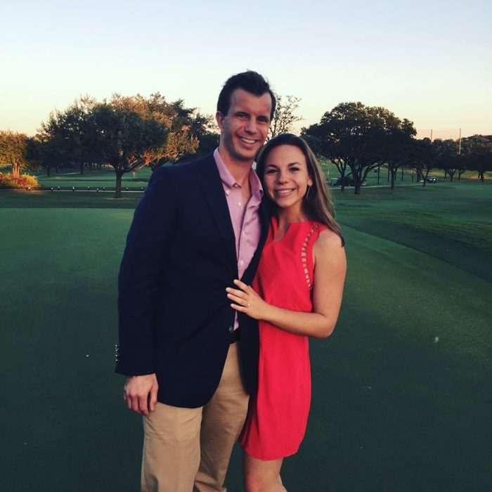 Christine and Preston's Engagement in San Antonio Country Club