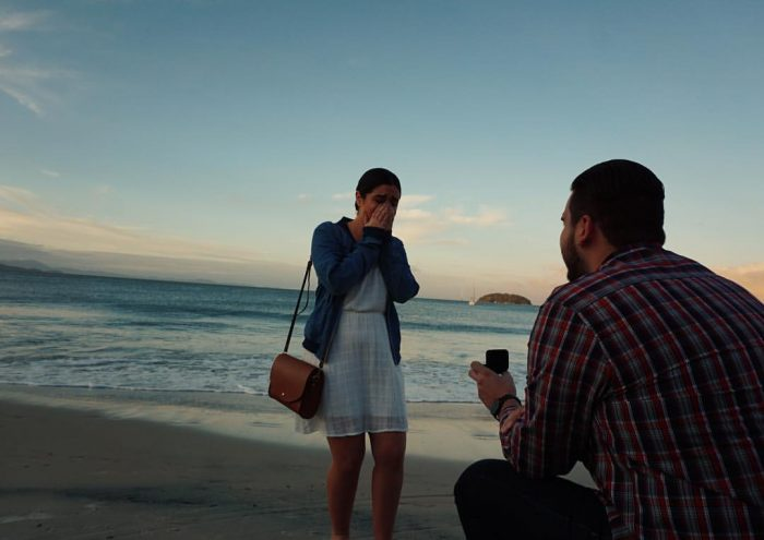 Carolyna and Alex's Engagement in Jurere, Brazil