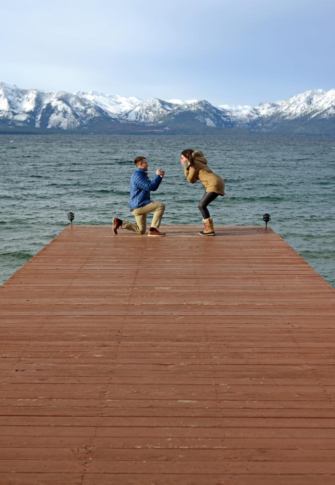 Lexy's Proposal in South Lake Tahoe, CA