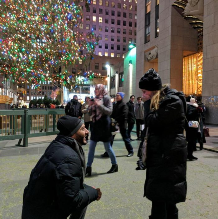 Dawn's Proposal in NYC