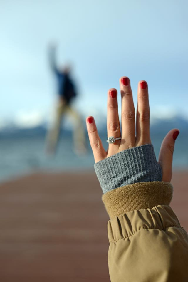 Lexy and Max's Engagement in South Lake Tahoe, CA