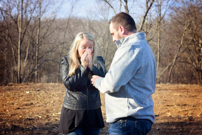 Meghan's Proposal in On our farm