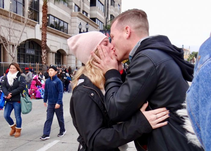 Where to Propose in Rose Parade 2017