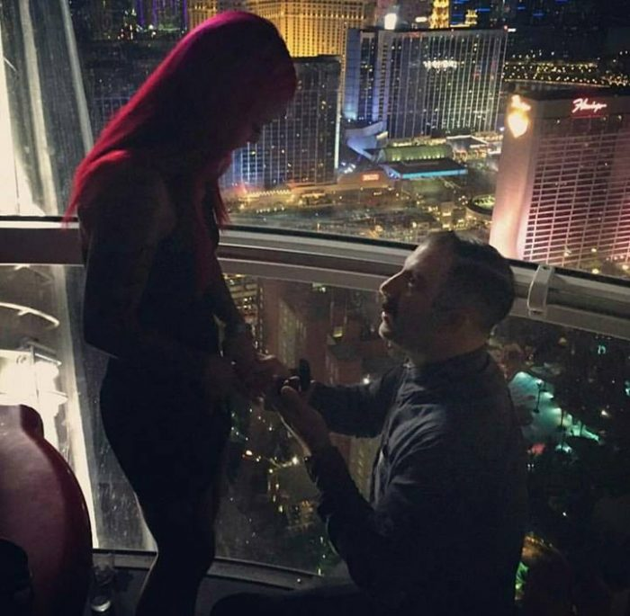 Engagement Proposal Ideas in High Roller Linq Las Vegas