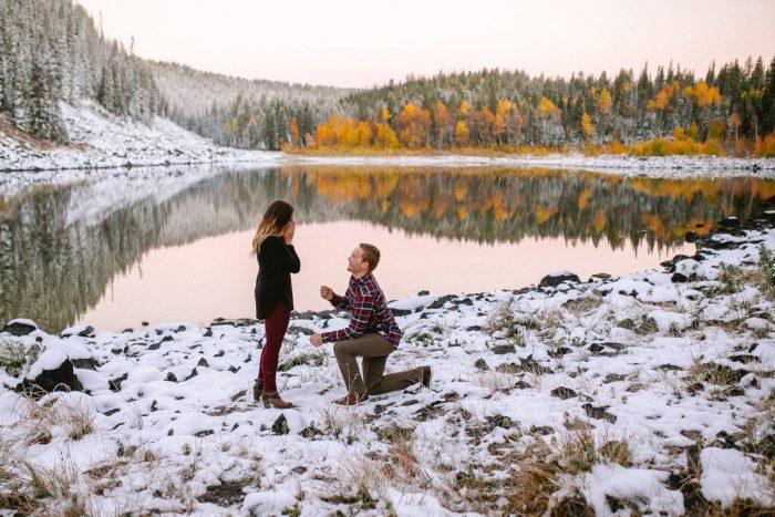Engagement Proposal Ideas in Grand Mesa National Forest, Colorado
