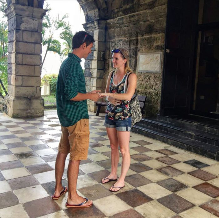 Engagement Proposal Ideas in Codrington College, Barbados