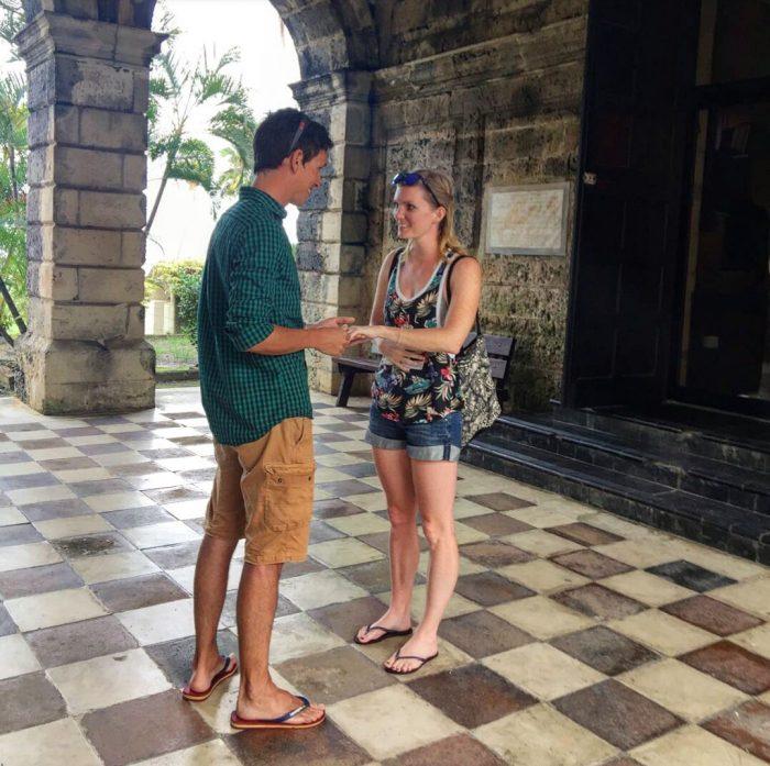 Engagement Proposal Ideas in Codrington College, Barbados