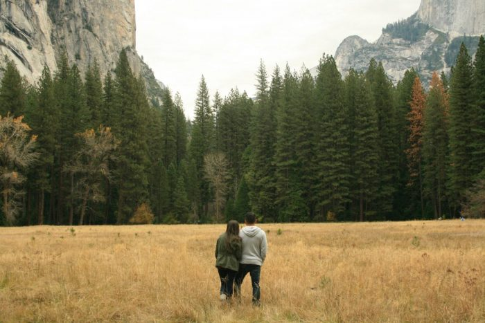 Yanai and Xavier's Engagement in Yosemite National Park