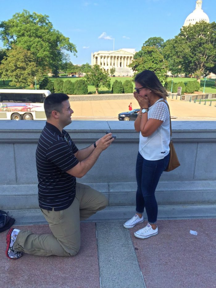 Lorraine's Proposal in Library of Congress Washington, DC