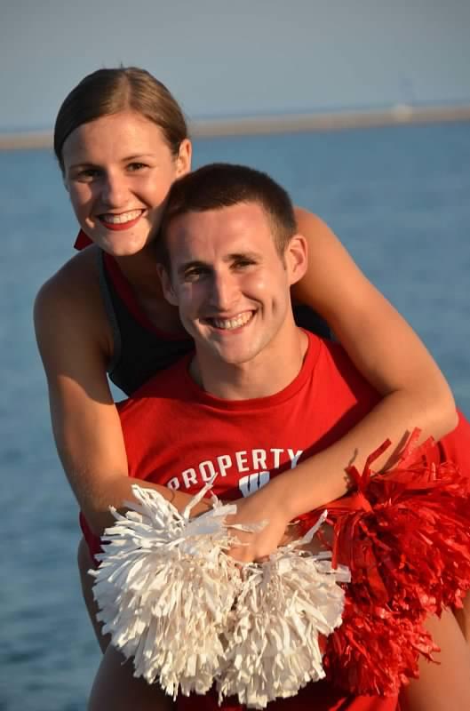 Kristen and Ben's Engagement in Grand Haven, Michigan