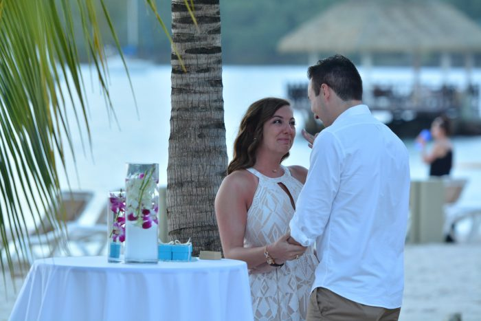 Lexi and Brett's Engagement in St. Lucia