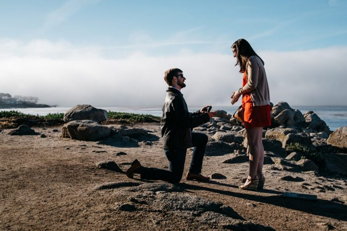 Engagement Proposal Ideas in Lovers Point , Pacific Grove, CA