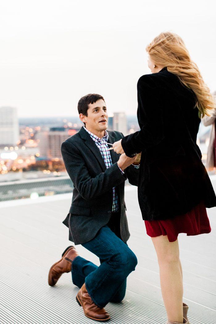 Abby and David's Engagement in Atlanta, Georgia