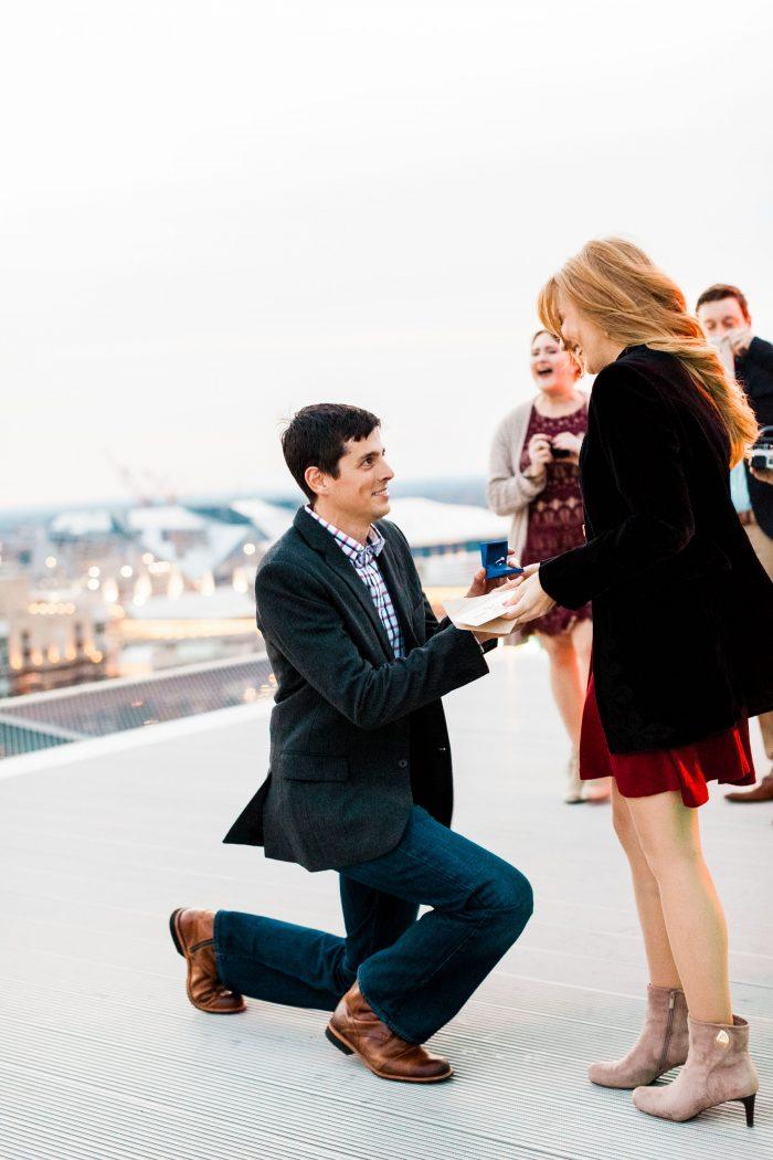 Abby's Proposal in Atlanta, Georgia