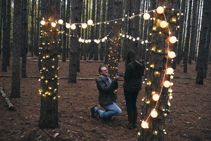 Kallie and Groom's Engagement in Oak Openings Metropark, Ohio