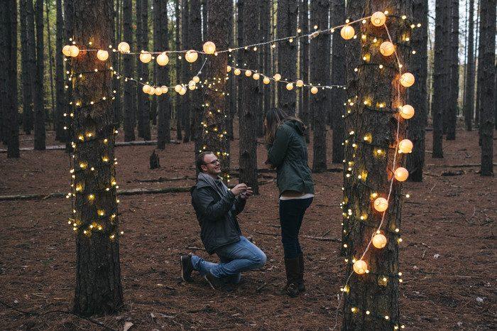 Marriage Proposal Ideas in Oak Openings Metropark, Ohio