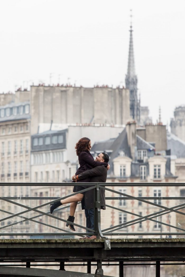 Kirsy's Proposal in Paris, France
